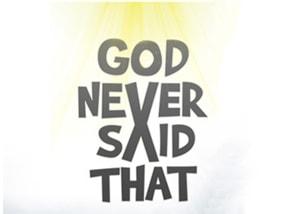 Bóg nigdy tego nie powiedział